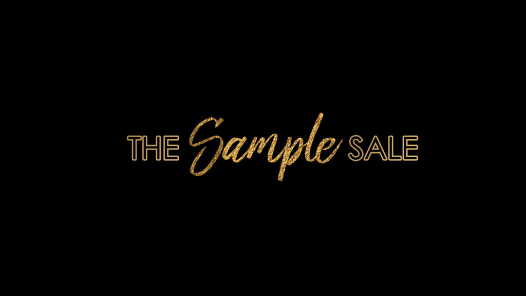 THE Sample SALE