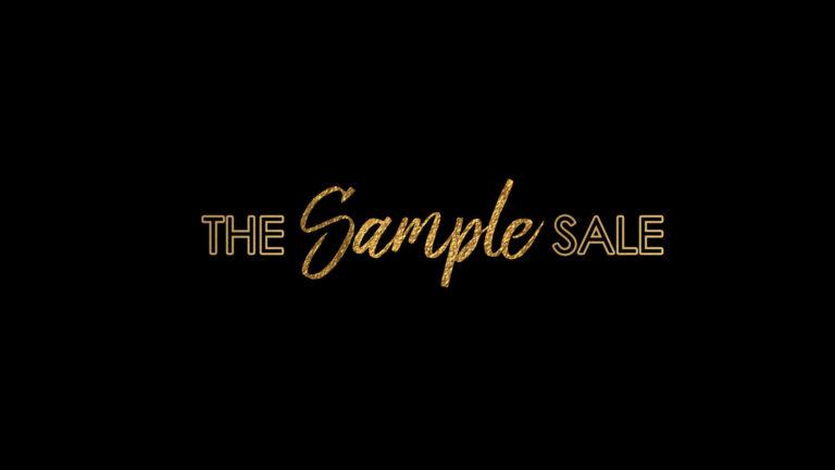 Bitsy Bridal 2018 March Sample Sale