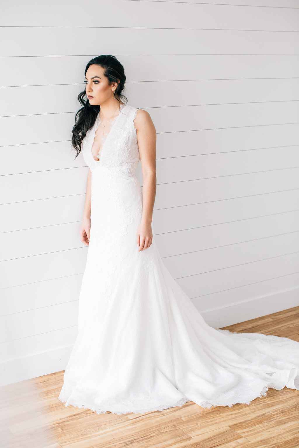 08bda633e798 This dress comes in ivory (as pictured), as well as a beautiful deep nude  color that really makes the overlying lace pop! Both colors are stunning in  their ...