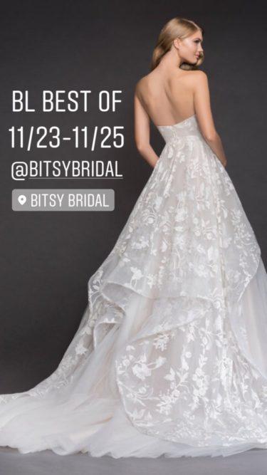 Hayley Paige Bitsy Bridal 2018 Trunkshow